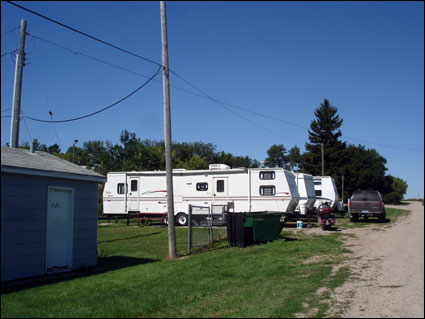 Esmond's campsites