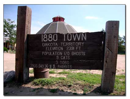 1880 town sign