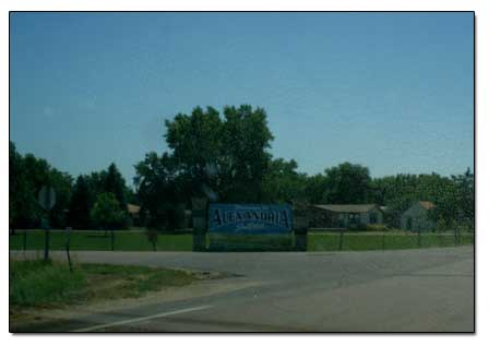 Welcome to Alexandria, SD
