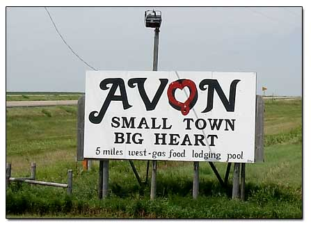 Highway Signs For Sale >> Avon South Dakota - Pictures