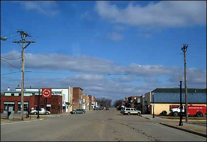 Main Street view in Scotland, SD